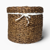 Round Hamper with Cover
